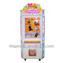 amusement indoor coin operated video grabbing game hydraulic toy clip claw hammer crane vending machines toy