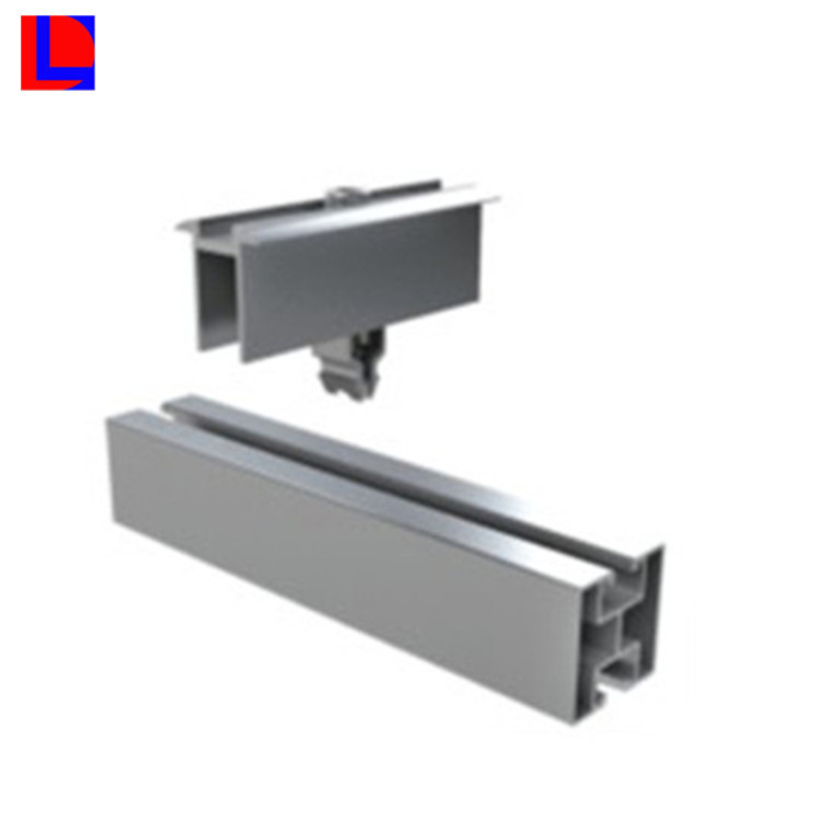 natural anodising Easy Installation solar panel mounting brackets