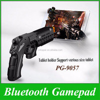 iPega PG-9057 Black Precision Wireless Bluetooth Shooting Game Gun Joysticker Gamepad for PS3 Move Motion Controller