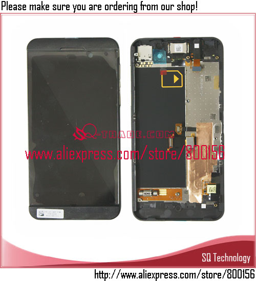 Black color mobile parts lcd for BlackBerry <strong>Z10</strong> 3G lcd <strong>touch</strong> <strong>screen</strong> digitizer free shipping