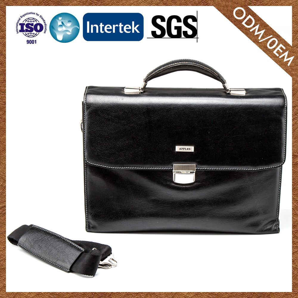 Best Factory Direct Sales Fashion Personalized Design Nice Quality laptop bags for men genuine leather