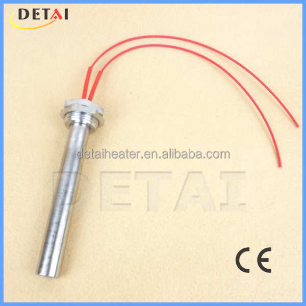 China Detai 220v 1200w tube heater for nozzle