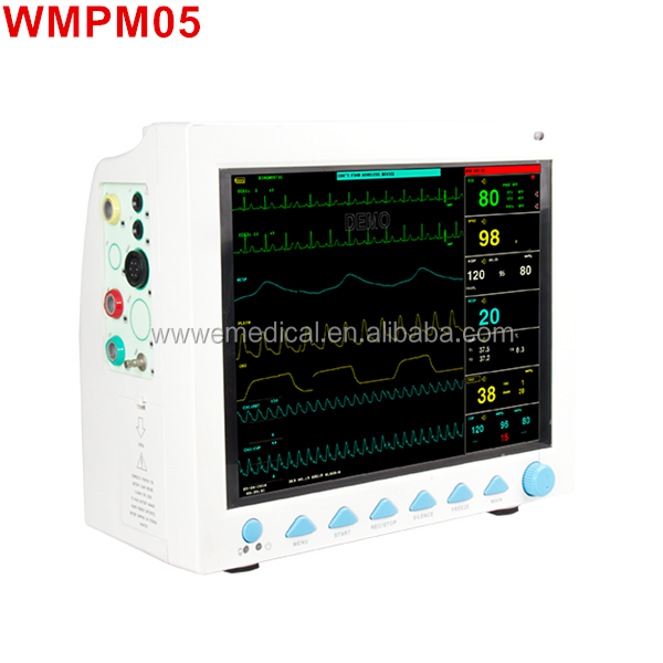 WMPM05 Wholesale Price 12.1 Inch Multipara Patient Monitor Equipment And Medical Product