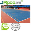 Used outdoor volleyball court paint rubber flooring