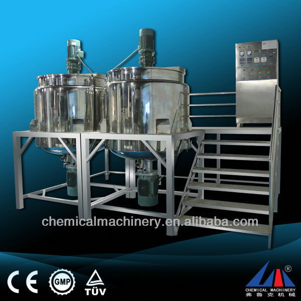 FULUKE price of soap making machine/Dishwashing Liquid Detergent shampoo, liquid soap Homogenizing Mixer Blending Machine