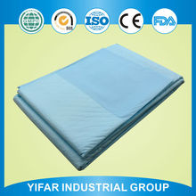 High standard production line wholesale blue backsheet premium price high quality super absorption under pad for women