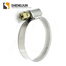 Stainless Steel Germany Type High Quality Belt Hose Clamp Hose Clip