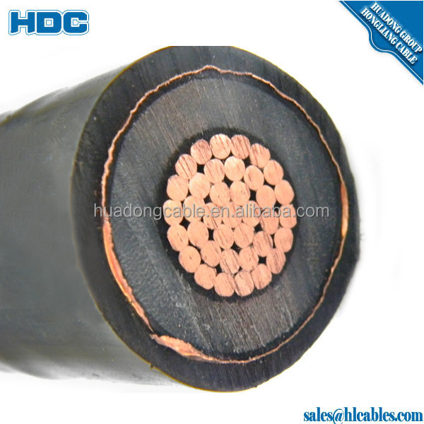 Underground Cables 1 x 240sq.mm XLPE (66kV) Al cable for laying from terminal pole to Gantry