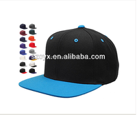 Fitted Flat Bill Fitted Structured Hat Cap New 6 Panel snapbacks
