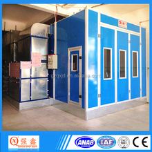 CE Approved Qiangxin QX2000AB Car Care Equipment Infrared Lamp Heater Car Body Paint Spray Booth