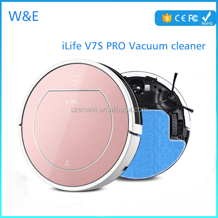 ILIFE V7S 2 in 1 dry Wet easy home Robot vacuum <strong>Cleaner</strong> for Wet Dry Cleanning vacuum <strong>cleaner</strong> motor