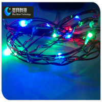 10m 100leds RGB teardrop christmas lights led string light