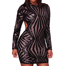 2018 Hot Sexy Club Dresses Transparent Sexy Night Dresses For Women