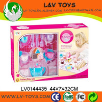 LV0144435 Kids Pretend Play toys plastic tea set,set toy tea set,Kitches Set Toys