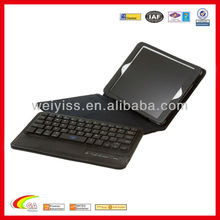 Retina Display Bluetooth Keyboard Case Cover with Removable Detachable Wireless Bluetooth Keyboard and Stand