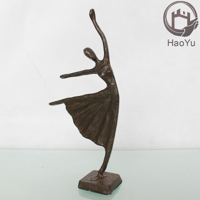 arts and crafts dancing girl figurines for home decor