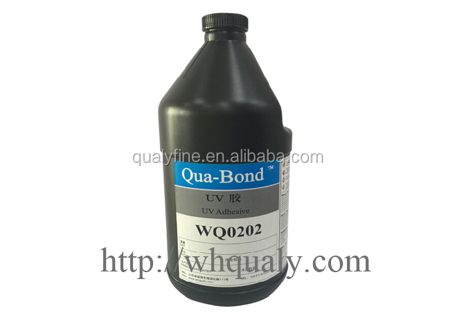 Plastic adhesive UV adhesiveUV glue light-cured WQ0123