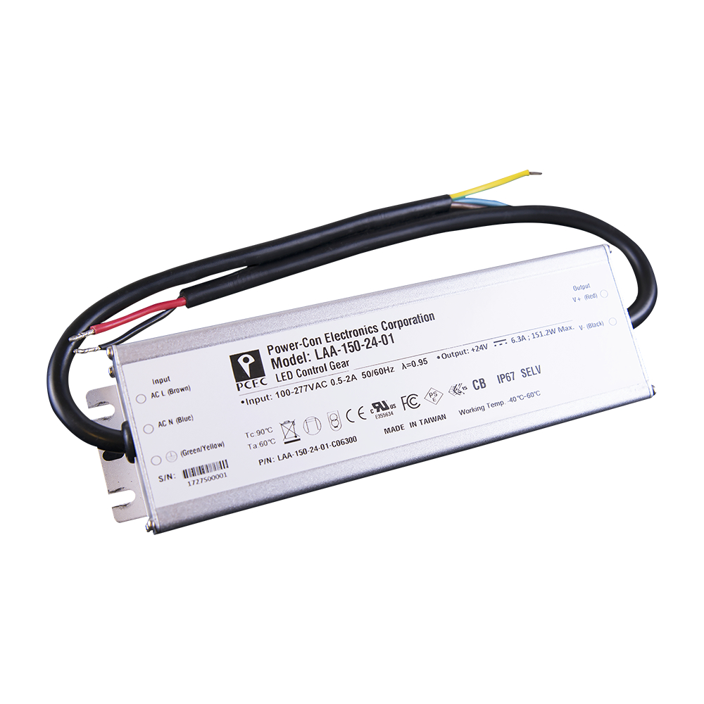 High Efficiency LED Driver switching mode power supply 150W 24V