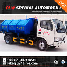dongfeng small Sealed Garbage Truck for sale