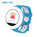 APPSCOMM 2018 Smart Watch GPS Tracker Wristwatches Kids Safety Monitor Smart Watch Phone for Children
