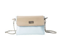 Miami Blue Leather Bag GENUINE LEATHER - FUQSIA
