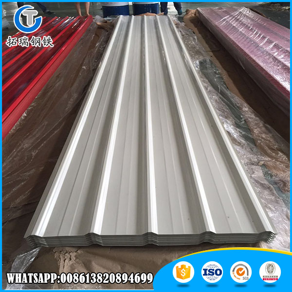 Hot Sale Anti Rust Prepainted Galvanized Corrugated Steel Sheets