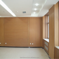 New Style Modern Wpc Prefabricated House Wall Panel