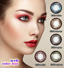 wholesale color contact lens iris contact lens power lens