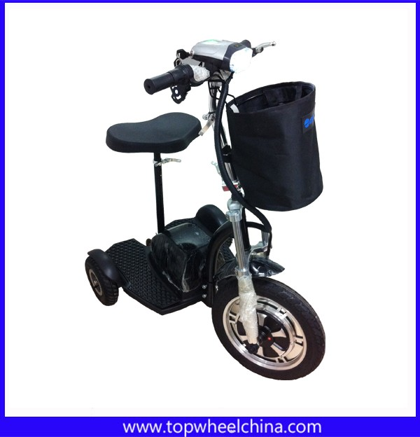 CE 500W factory direct disable old helpful 3 wheel adult kick scooter