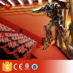 2015 excited activity of 100 seats 5d cinema/4d theater
