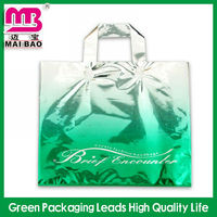 New design product disposable plastic carrying loop handle bag for daily life