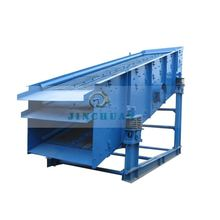 Four deck vibrating screen gravel and sand vibrator