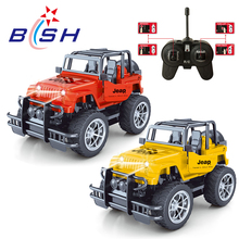 Hot sale new design 1:24 scale 4-function kids rc jeep with light