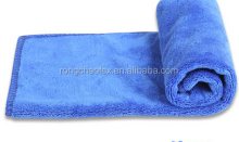 80%polyester with 20% polyamide thickness high quality plain dyed face microfiber towels
