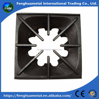 Customized High Quality Rectangular Cast Iron Stove Grates