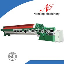 Hydraulic Chamber Filter Press Mud Water Separation