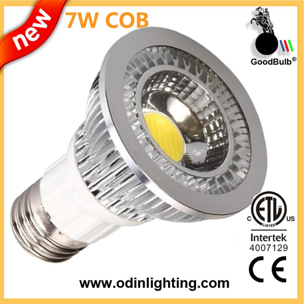 Shezhen Energy star Listed 7w 560lm led par20 cob led <strong>spotlight</strong>