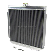 aluminum car auto parts 2 Row Radiator for Ford XY XW 302 & 6CYL & custom use AT/MT 69-72