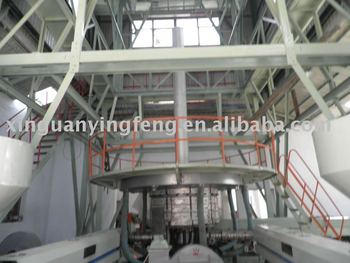 three layer agriculture film machine film making machine for 10---17 meter