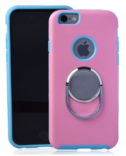latest design mobile phones case with ring stand for iphone 6 cool case