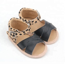 Genuine leather Small MOQ Shoes Soft Wholesale Lovely Baby Sandals