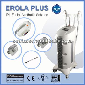 2015 Suslaser Best Hair And Spot Removal Machine LCD Touch Screen Beauty Instruments S3000 CE/ISO