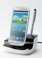 Micro USB Universal Charging Dock Cellphone Charger for Samsung Galaxy Note 2 N7100 S3 I9300