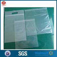 Clear Custom LDPE Plastic Ziplock Bag for Food Packing for Cloth Packing