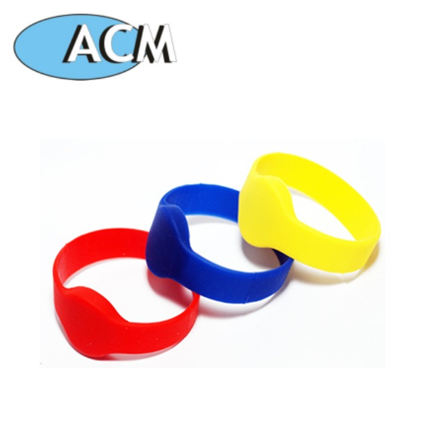 13.56 MHz Programmable Smart Chip Rfid Wristband EM4200/ EM4305/ T5577 Rewritable Nfc wristband