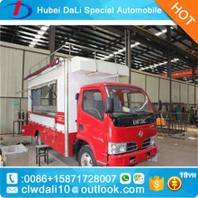 China made free design Street food carts /cargo vans / vending trucks