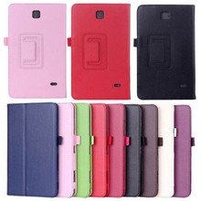 Folio Leather Tablet Cases Flip Cover Case for Samsung Galaxy Tab 3 7.0 T210 with Photo Frame Design