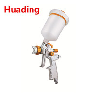 HVLP - Gravity Spray Gun Get a superior finish and save paint at the same time High volume low pressrue technology applies pa