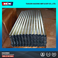 zinc roof sheet price/roof insulated sheet metal prices per sheet