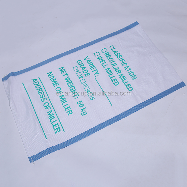 color printed China suppliers PP Woven Bag/PP Sack for plastic bag 50kg cement,flour,rice,fertilizer,food,feed,sand